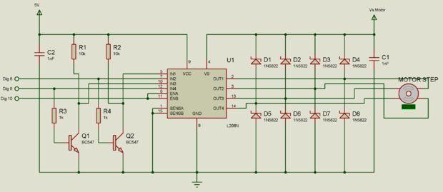 Stepper Motor + Arduino + Solar Tracker (EV) | solar panel