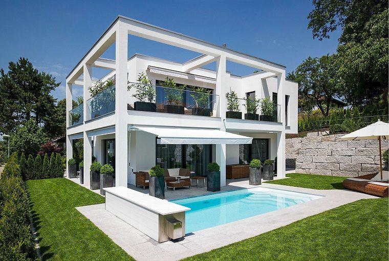 Jardines Y Terrazas 75 Ideas Creativas De Diseno Que Inspira Iluminacion De Fachada House Diseno De Jardin Moderno