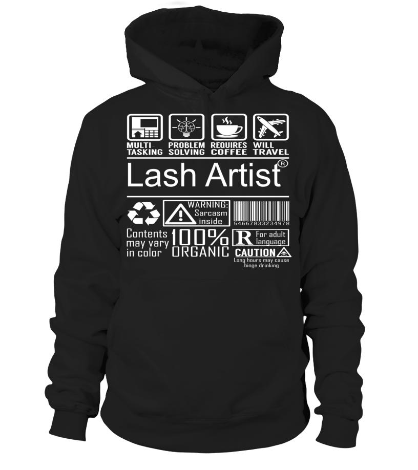 Lash Artist Multitasking Job Title T-Shirt #LashArtist