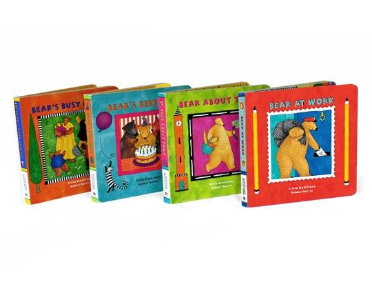 Busy Bear Board Books Bundle This Bundle Contains Board Book Editions Of Bear S Birthday Bear About Town Bear S Book Bundles Board Books Award Winning Books