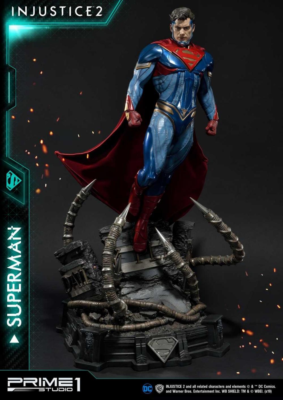 Premium Masterline Injustice 2 Superman By Prime 1 Studio Injustice 2 Superman Character Statue Dc Comics