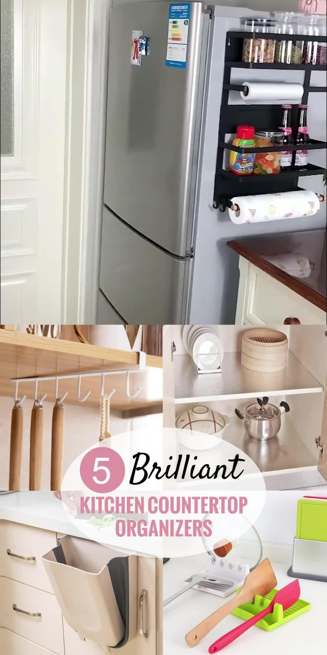 Photo of 5 Genius Kitchen Countertop Organization Ideas (2020)