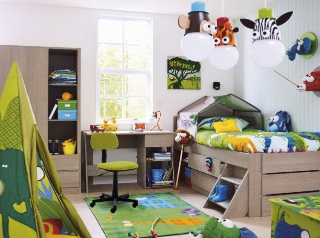 Decorating Ideas For Toddler Boys Bedrooms Lanzhome Com In 2020 Toddler Boys Room Boys Room Colors Boys Bedroom Themes