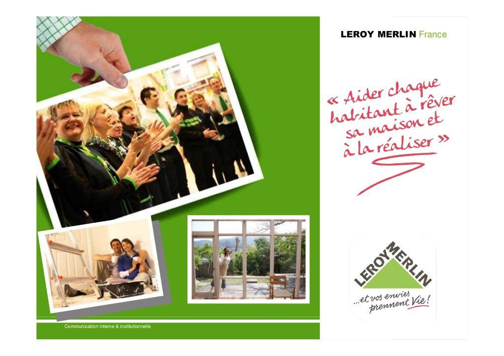 Presentation Leroy Merlin France Mai 2012 Merlin Leroy Merlin Leroy