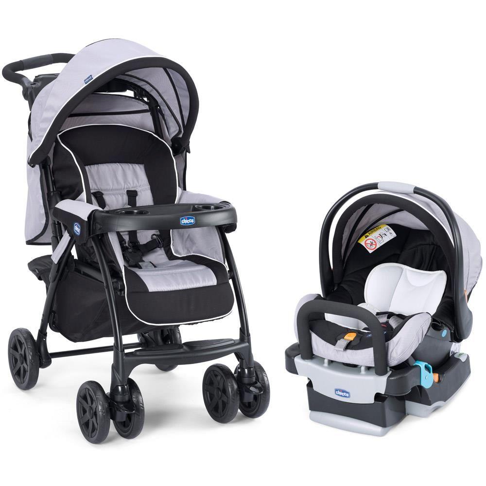 Carrinho de Bebê e Bebê Conforto Travel System Duo Today Chicco. Uma ótima opção para quem procura praticidade, conforto e segurança! Confira mais em nossa loja virtual!
