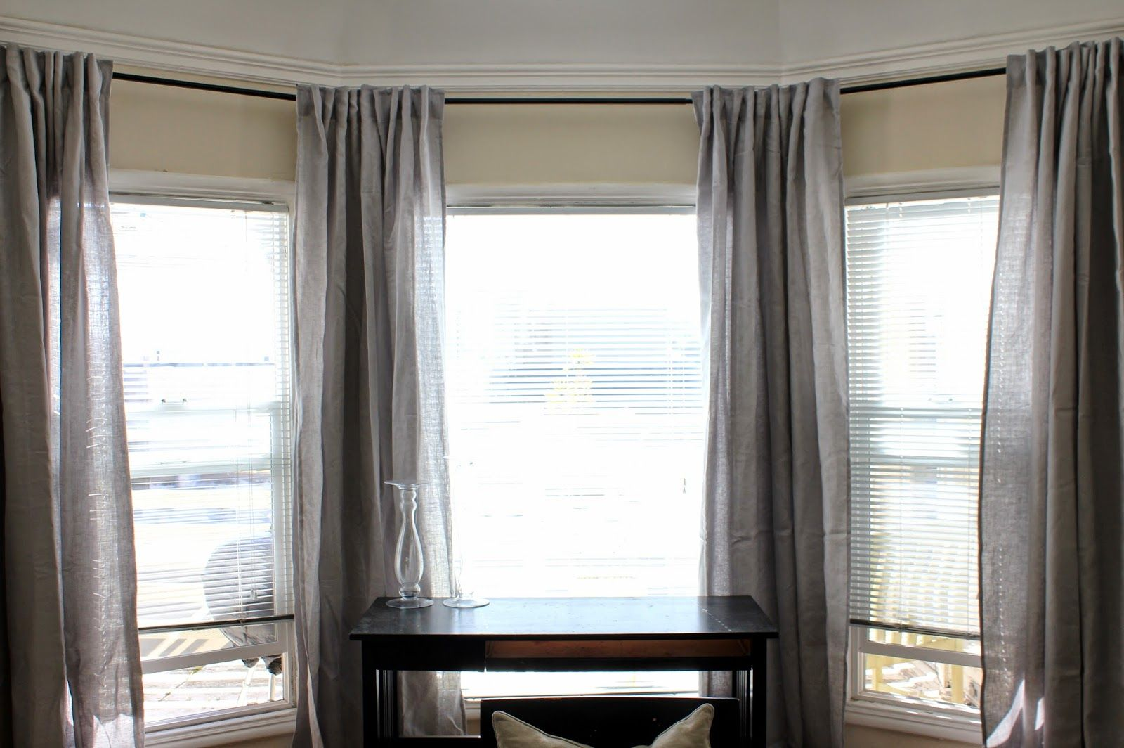 Cup Half Full April 2014 Linen Pinterest Linen Curtain Grey Curtains And Linens