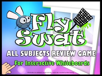Fly Swatter Students Race To The Board Select Correct Answer And Swat This Easy Use Point Template Is A Hilarious Way