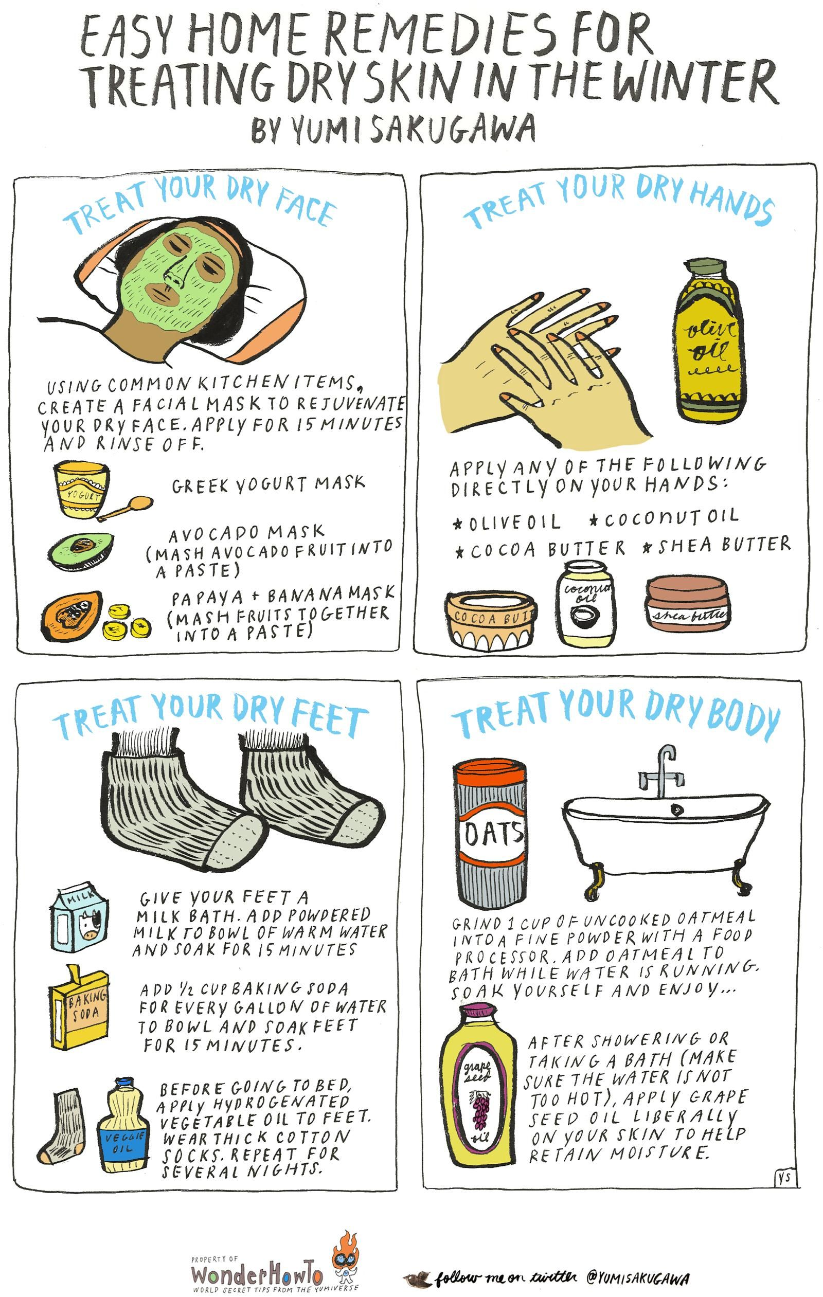 Home Remedies for Dry Skin  Skin related  Pinterest  Dry skin