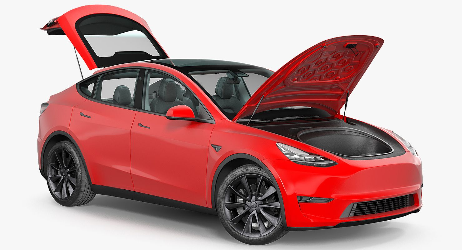 Artist Renders Tesla Model Y Exterior And Interior With The Utmost
