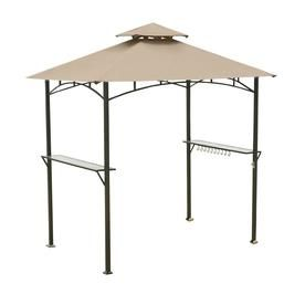 Garden Winds Replacement Canopy For L Gg001pst F Grill Gazebo Rip Lock 350 Lowes Com In 2020 Grill Gazebo Replacement Canopy Gazebo