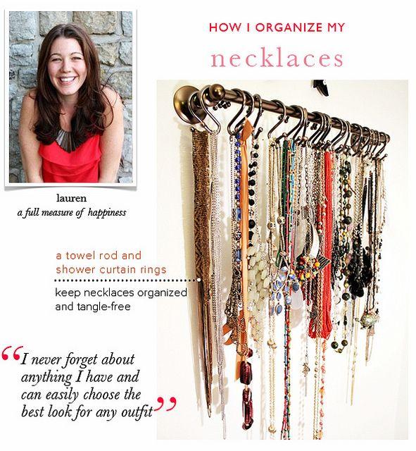 How Lauren Organizes Her Necklaces   Arianna Belle ...