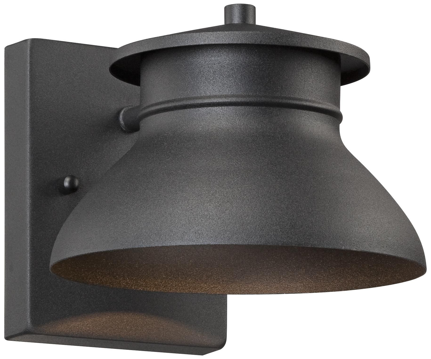 Led Energy Efficient Black 5 Quot High Outdoor Wall Light I