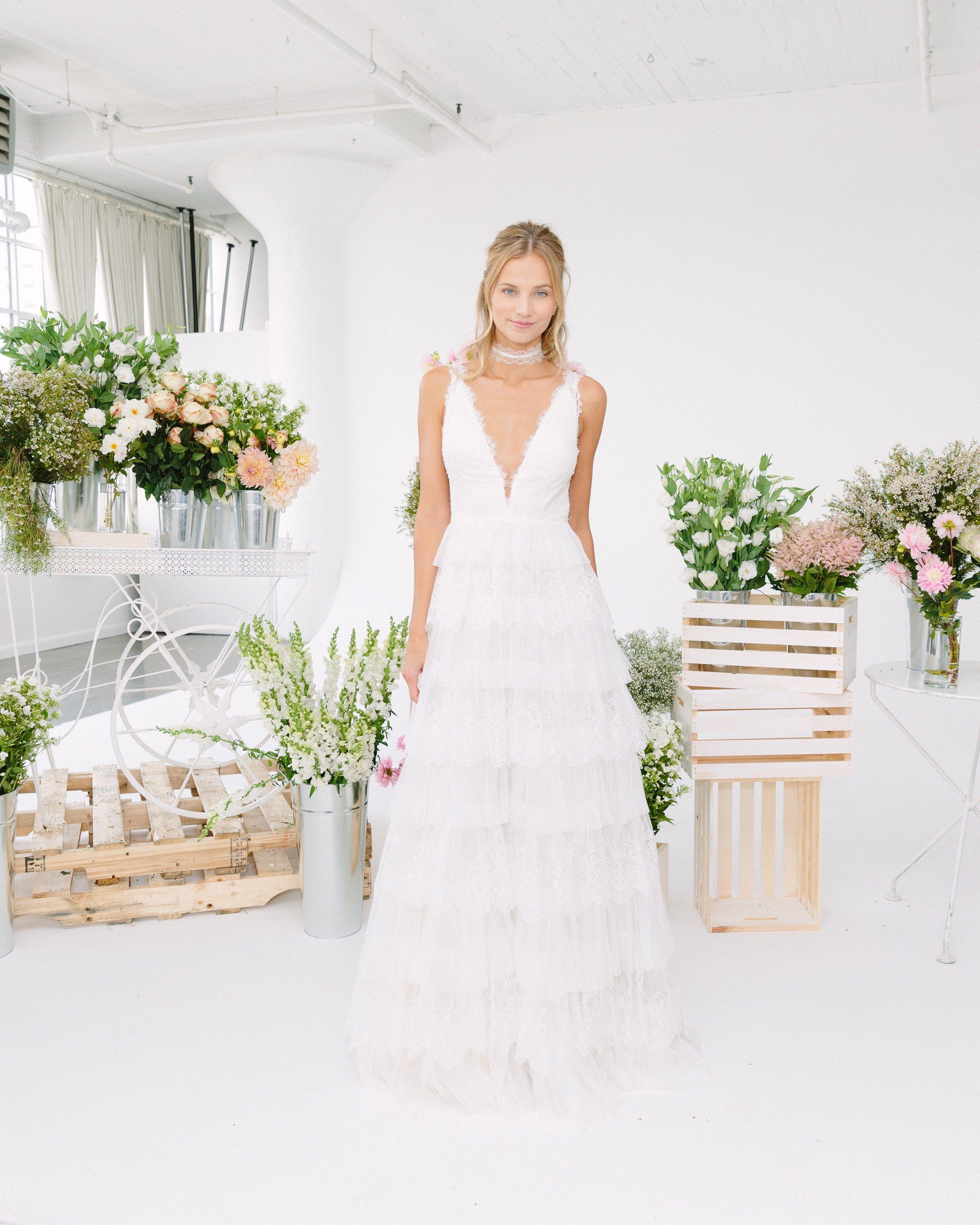 Marchesa Notte Bridal Wedding Dress Collection Fall 2018 Brides