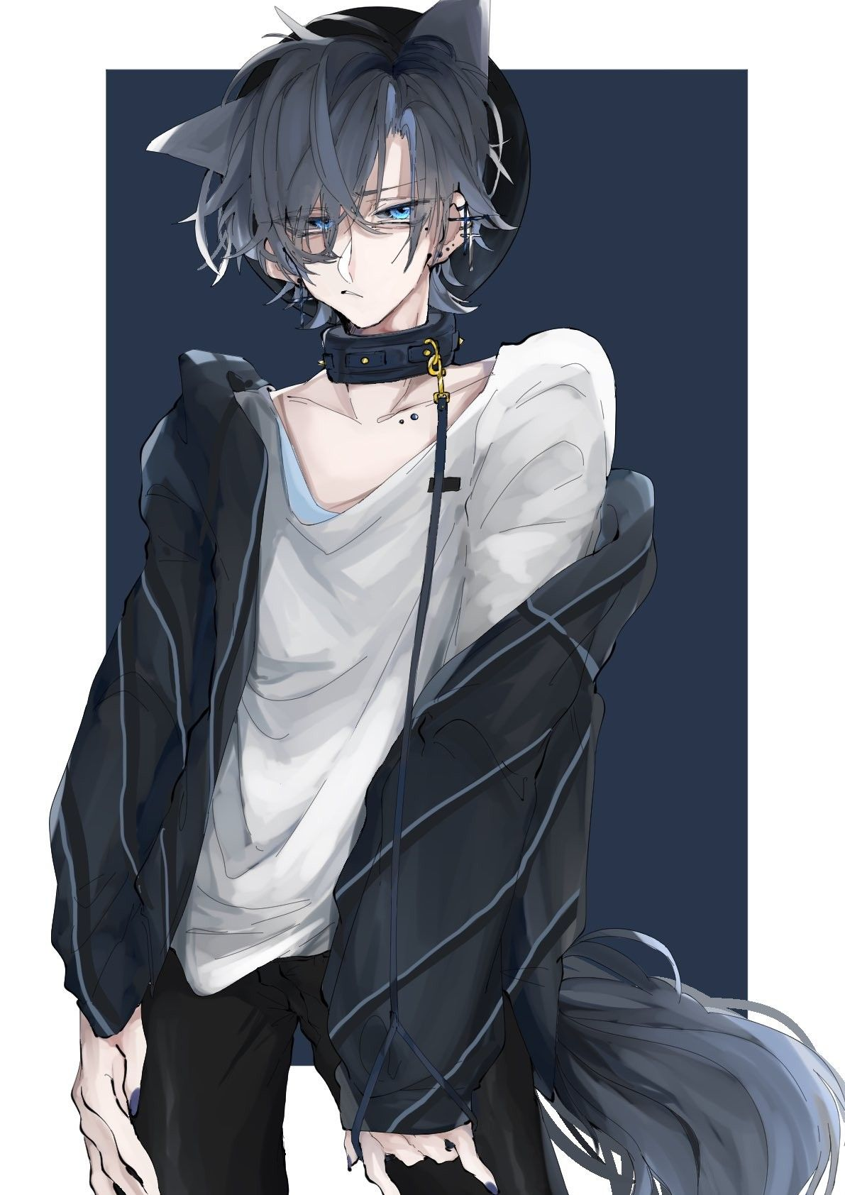 ᥲᥒιmᥱ. image by ¡𝗕𝟬𝗬𝗙𝗥𝗜𝗫𝗡𝗗 Anime cat boy, Anime drawings