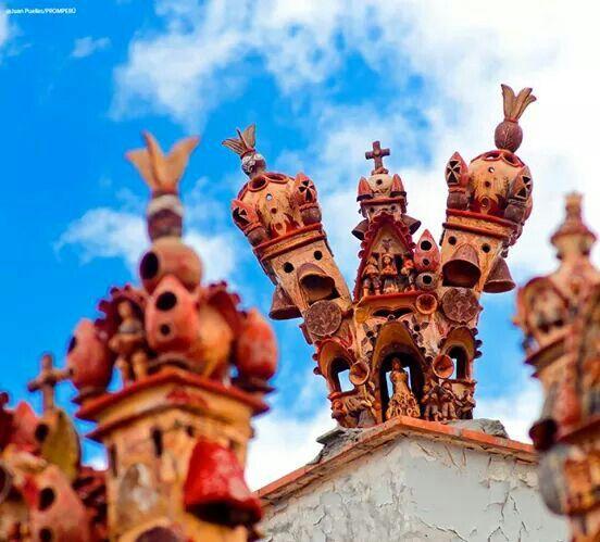 Artesanía Peruana en Arcilla.
