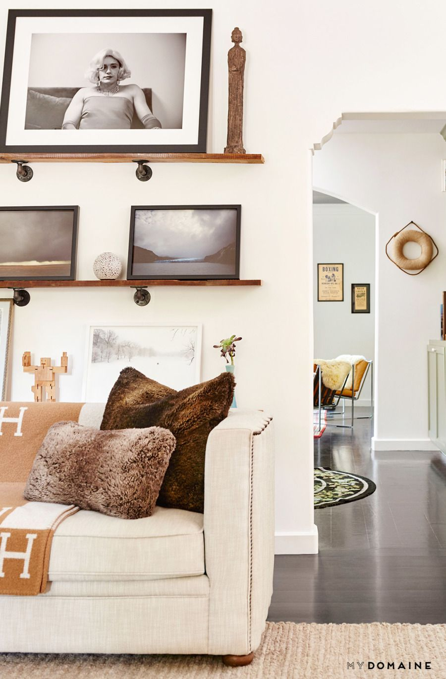 Constance Zimmer of unREAL Home Tour   Living rooms, Room and House