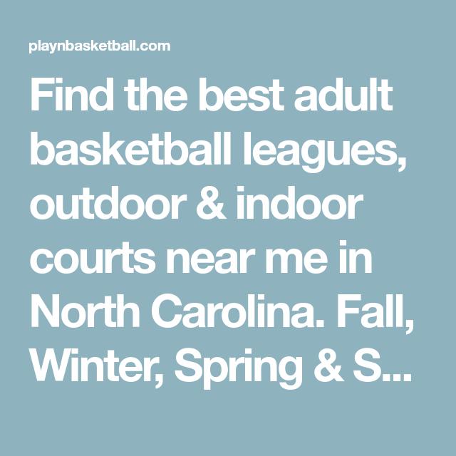 North Carolina Adult Basketball Leagues And Basketball -6144