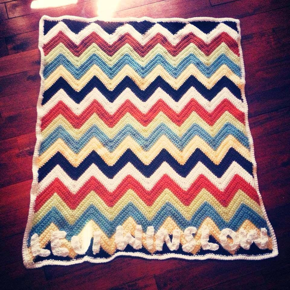 The View From My Hook: Free Pattern Friday: My Favorite Chevron ...
