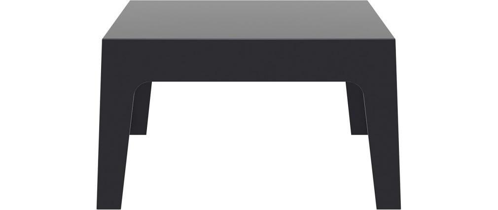 Table basse de jardin design noire LALI   OB_Vitre   Pinterest