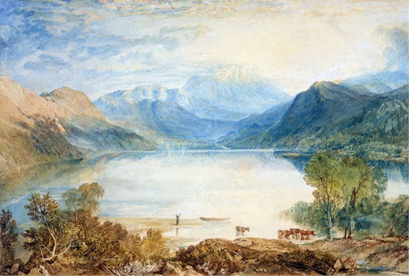 I Wandered Lonely As A Cloud Joseph Mallord William Turner Mallord Turner Painting