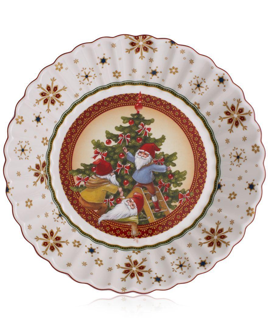 Villeroy & Boch Toy\'s Fantasy Christmas Tree Large Bowl   Villeroy ...