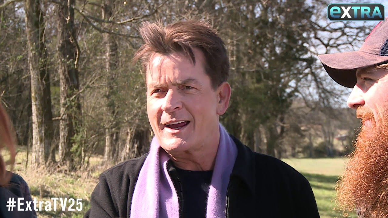 Charlie Sheen on Directing a Music Video, Plus Would He