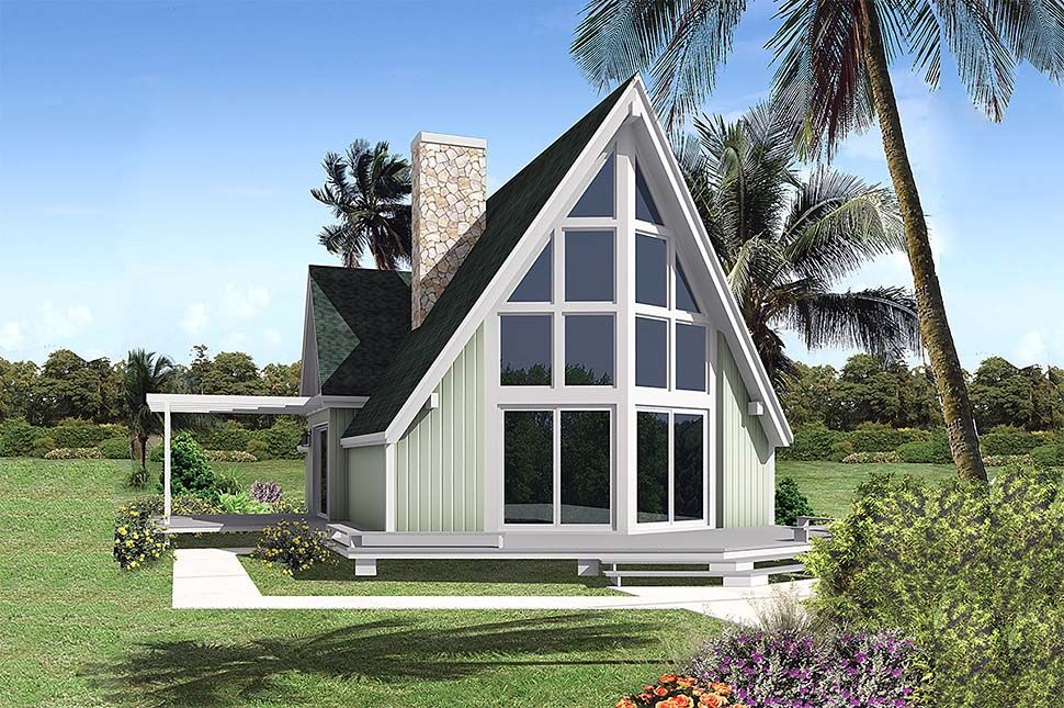 Plan Id Chp 59152 Coolhouseplans Com Cottage Style House Plans Vacation House Plans A Frame House Plans