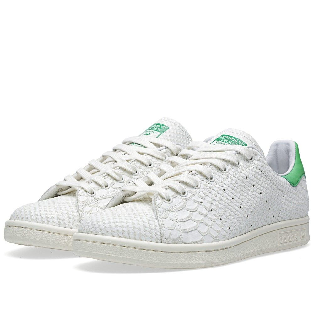reputable site e934a 62798 Adidas Consortium Stan Smith 'Reptile Leather' (White Vapour ...