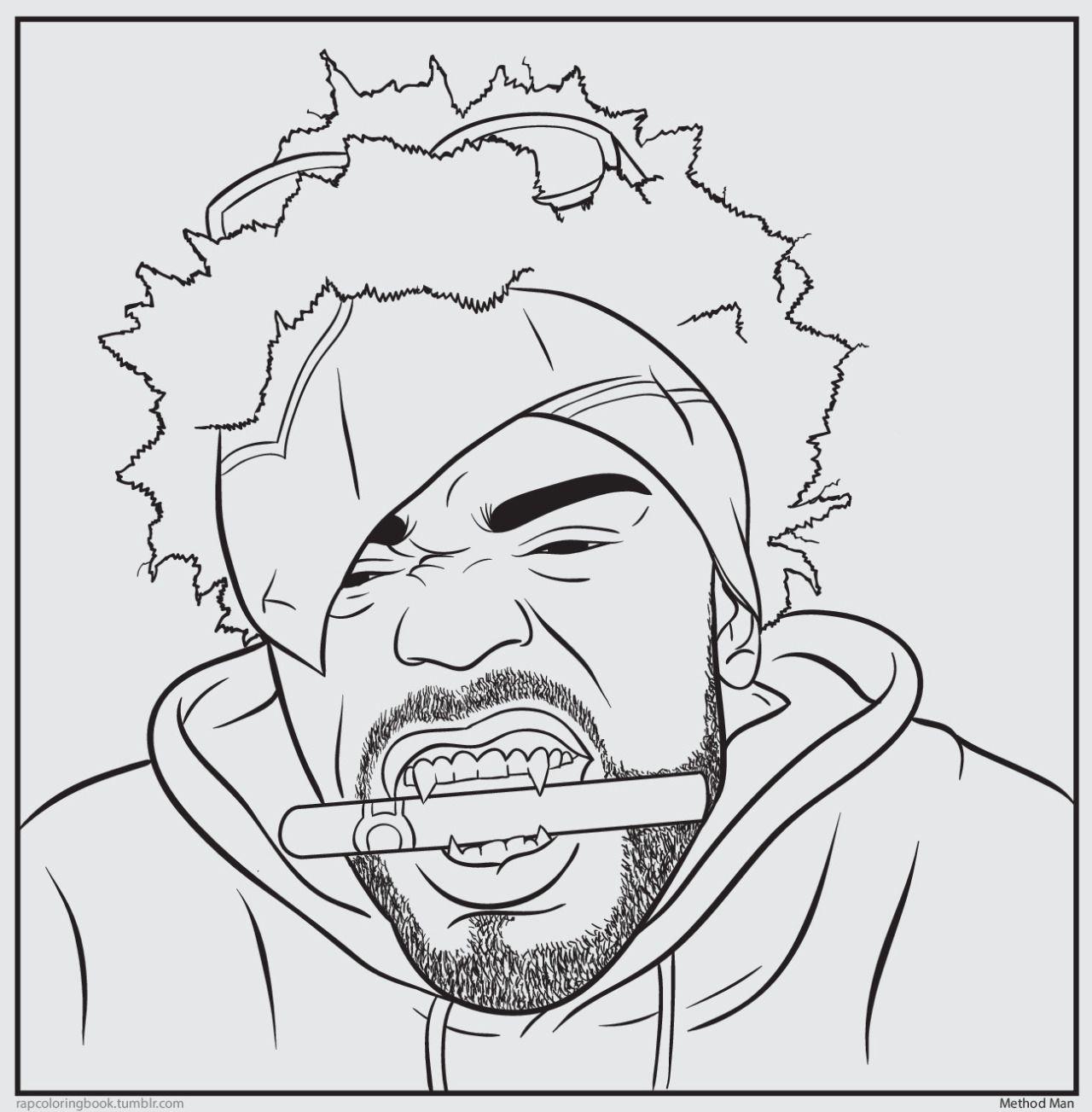 bun b's jumbo coloring and rap activity tumblr  click