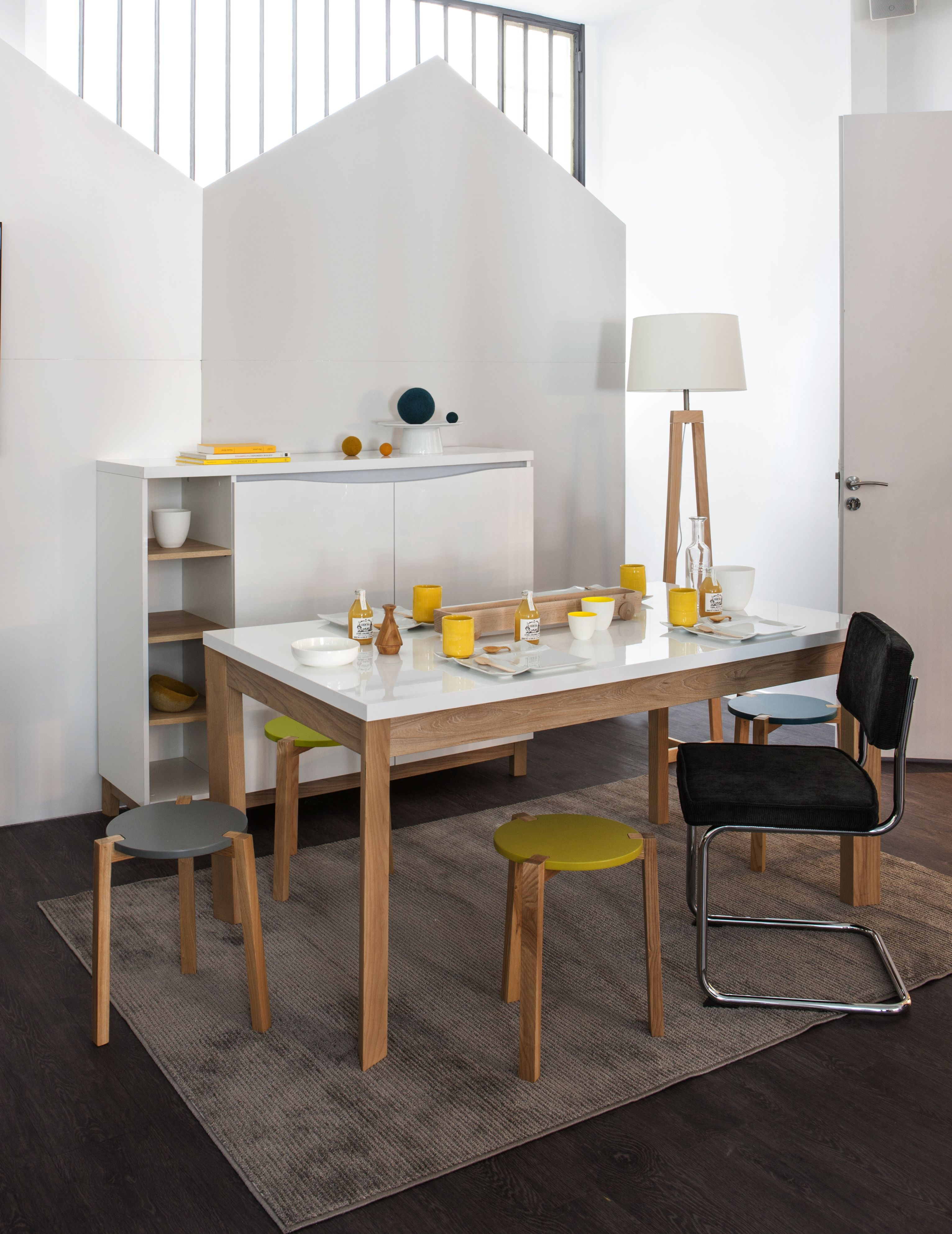 Ambiance d co scandinave table et commode almera - Ambiance tables et chaises reims ...