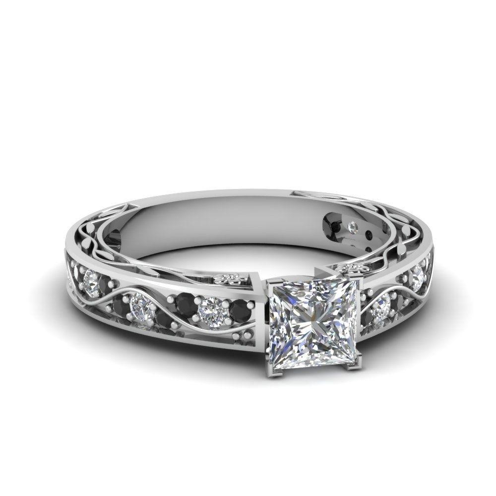 Black Diamond Rings Zales Ring