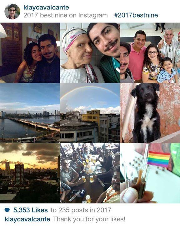 As 9 melhores fotos que postei no Instagram neste ano segundo os likes da galera. =]
