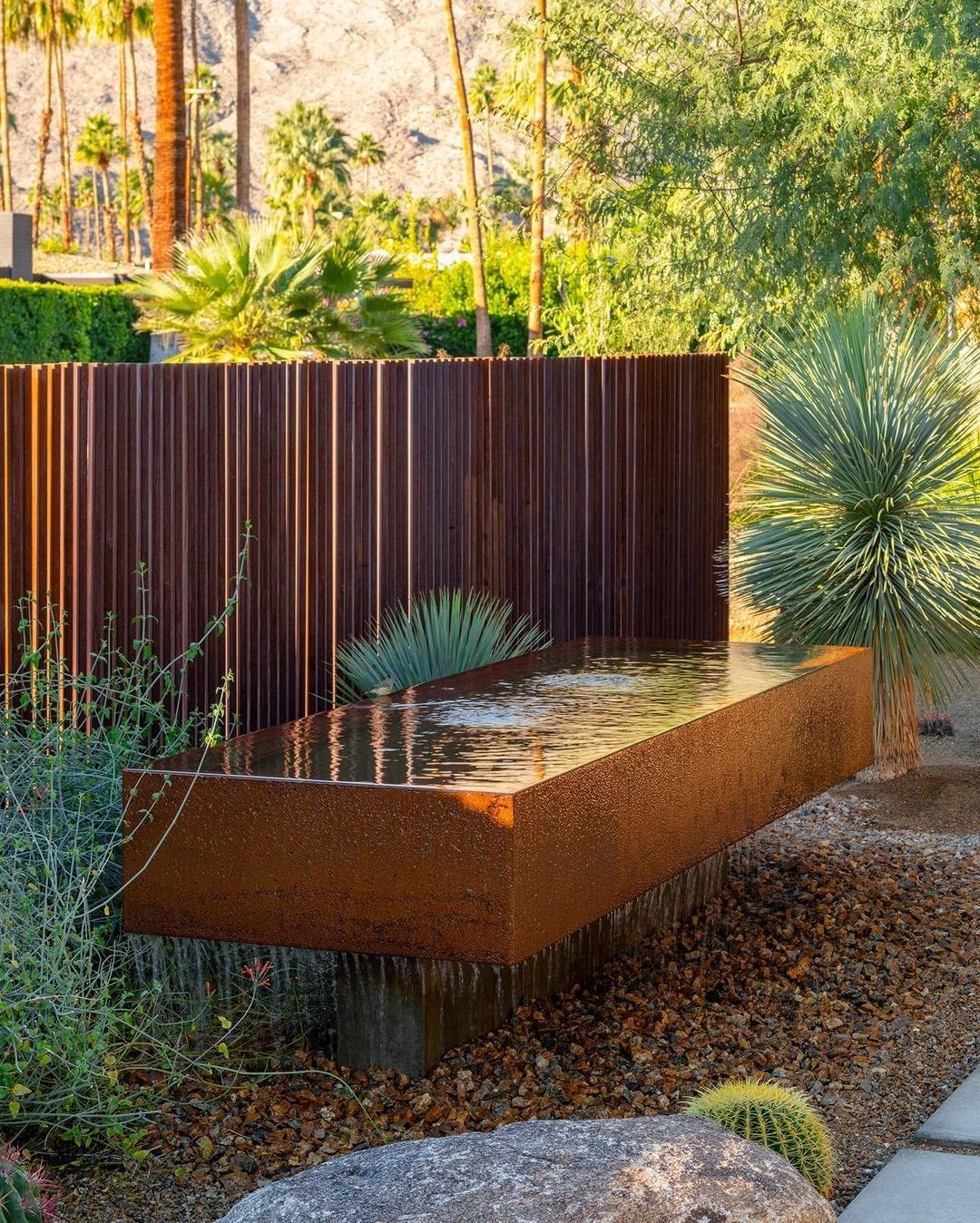 "Studio AR&D Architects on Instagram: ""Custom corten water ..."