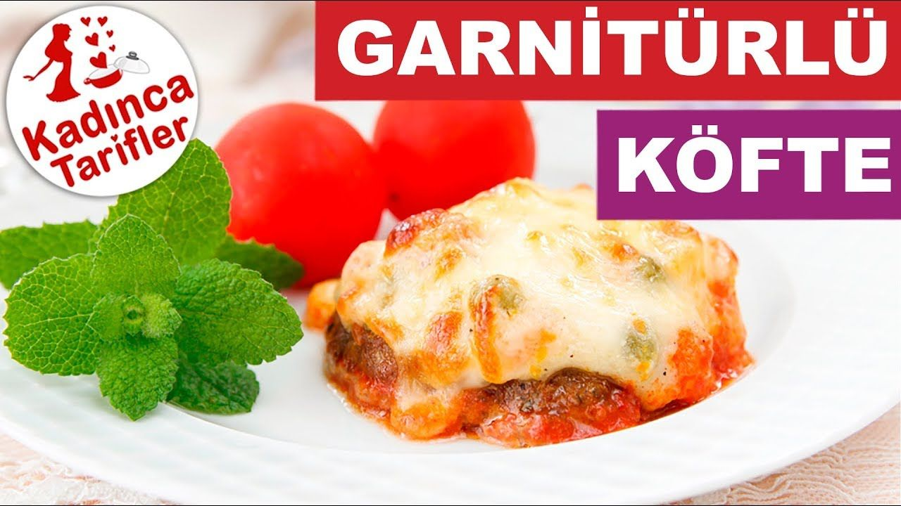 Kiremitte Soslu Kaşarlı Köfte Tarifi Videosu