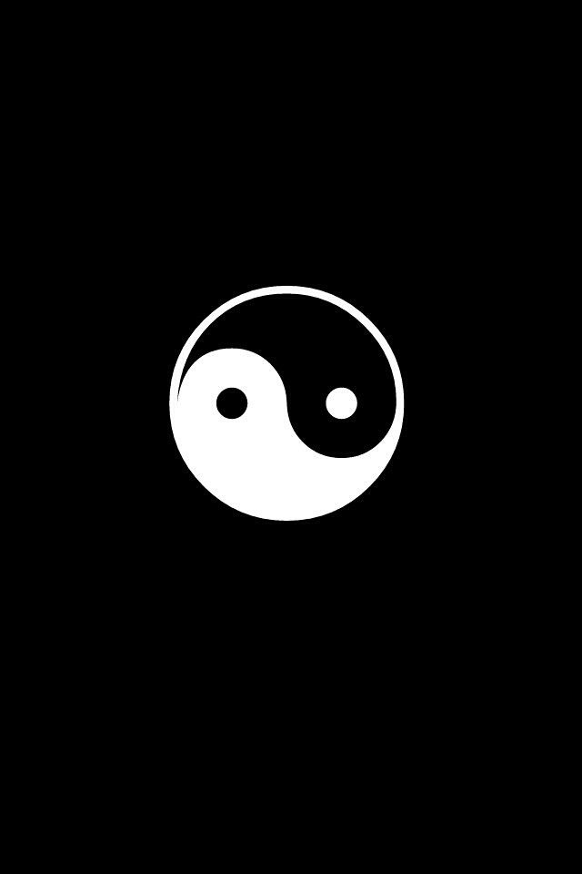Yin Yang Yin Yang Yin Yang Art Dark Wallpaper