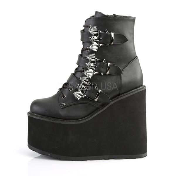 "DEMONIA Emily-302 2/"" P//F Goth Punk Alternative Platform Shoes"