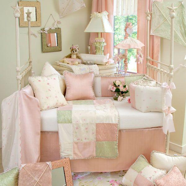 Glenna Jean Meadow 3 Piece Crib Bedding Set - Free Shipping on Crib Bedding Sets