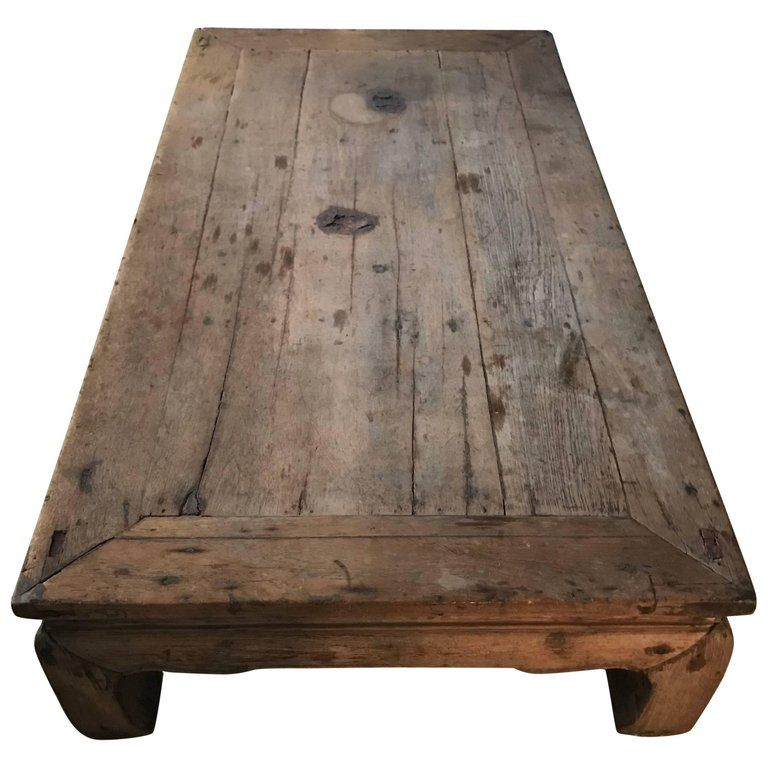For Sale On 1stdibs Coffee Table In Teak Wood Southeast Asia Thailand With Nice Old Patina 19th Century Teak