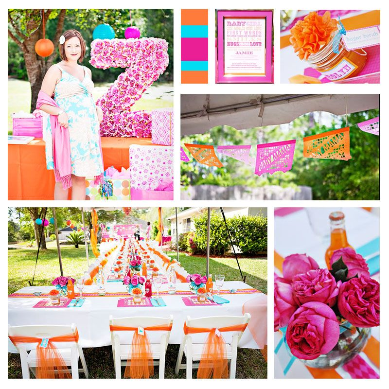 Baby Shower Master Planner Orange Party Babies And Baby Shower Themes