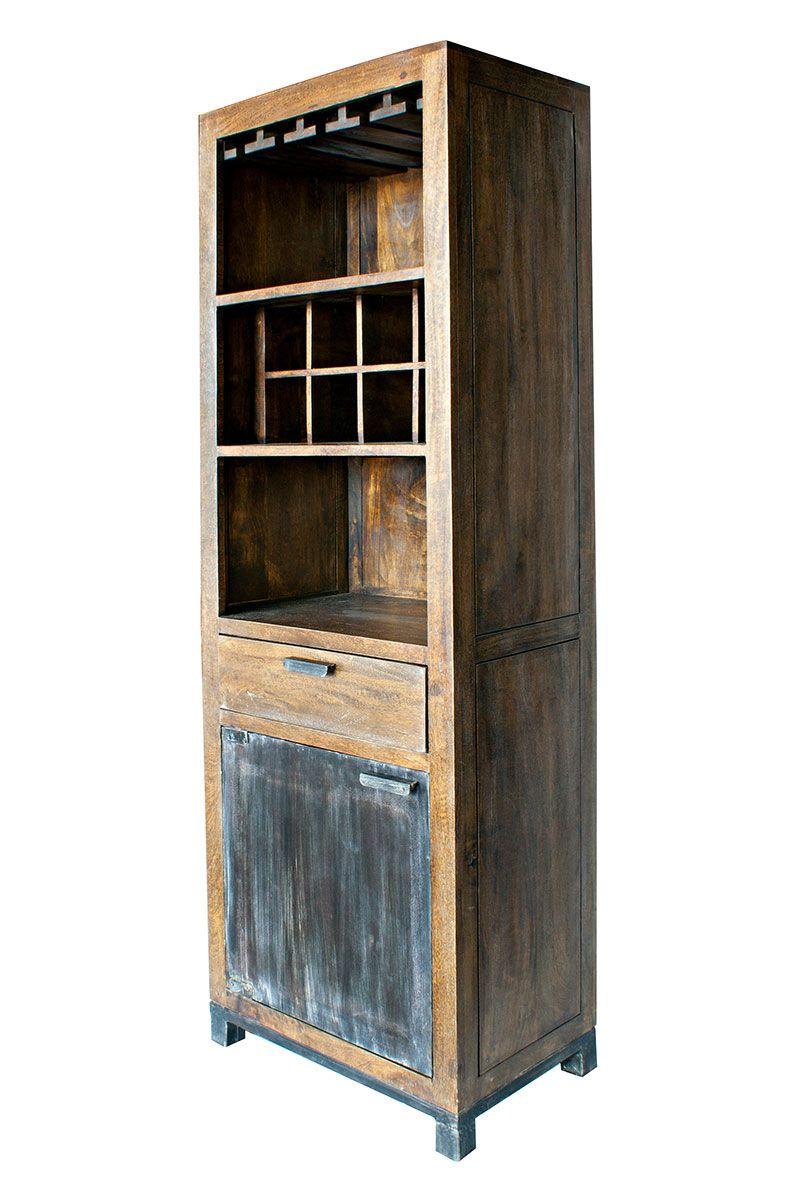 Foto del botellero en madera para hosteler a modelo for Material hosteleria online