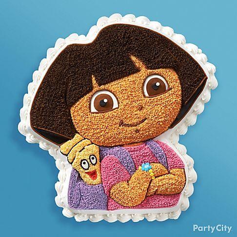 Dora the explorer birthday cake Madi Pinterest Birthday cakes