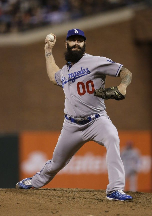 Brian Wilson The First Number 00 In Dodgers History Dodgers History Dodgers Baseball Dodgers