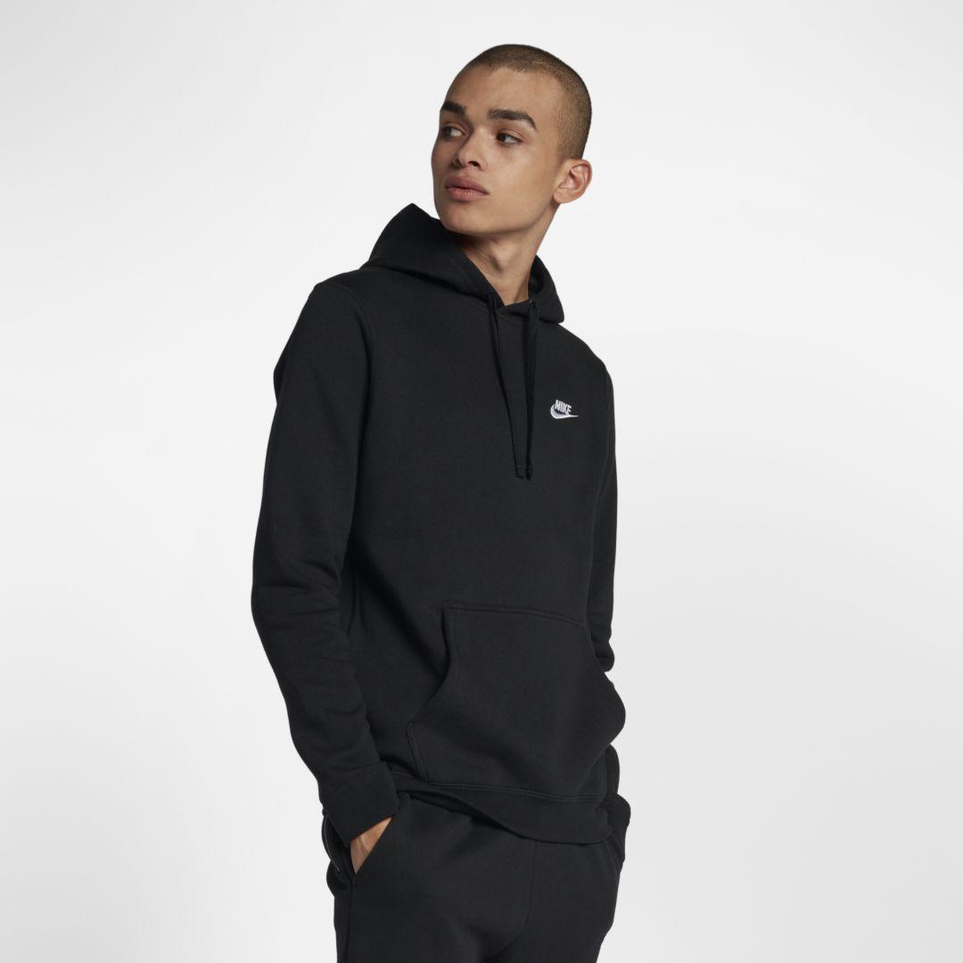 Nike Nike Sportswear Club Fleece Pullover Hoodie Size 4XL Tall (Black) from NIKE | ShapeShop