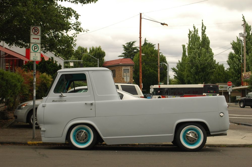1964 Ford Econoline Pickup Custom Old Ford Trucks Vintage