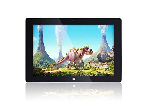 10 Fusion5 Ultra Slim Windows Tablet PC- (Full Size USB 3.0, Intel Quad-core, 5MP and 2MP Du...