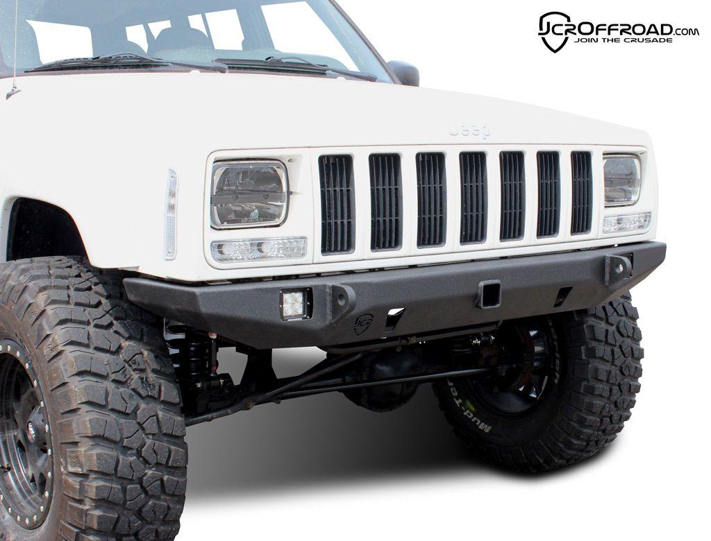 Jeep Cherokee Front Bumper Crusader Jeep Xj 84 01 Jeep Xj Jeep Cherokee Jeep Cherokee Xj