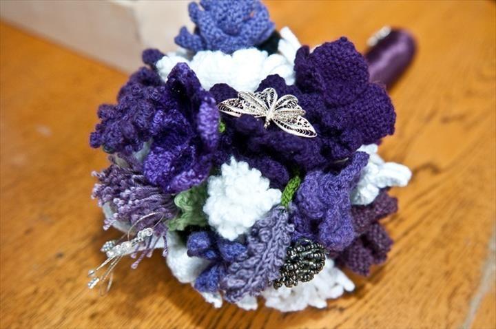 37 Flower Bouquet Crochet Pattern Free | Pinterest | Flower bouquets ...