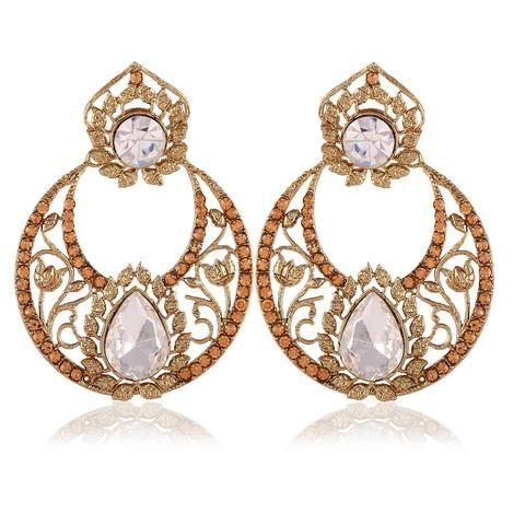 Chandelier Earring Jewellery Accessories Online ,Indian Dresses