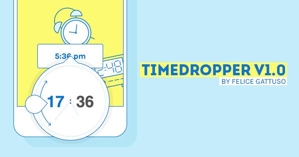 Timedropper a gorgeous jquery time plugin follow producthuntlive jquery ui malvernweather Gallery