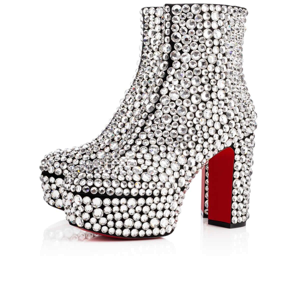 924e0dfddab Shoes - Roxxxy Strass - Christian Louboutin | Christian Louboutin in ...